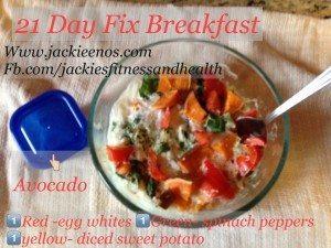 21 day fix breakfast www.jackieenos.com