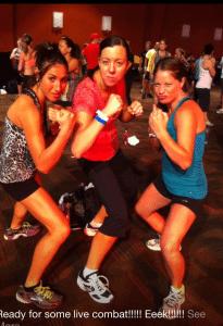 live workout combat