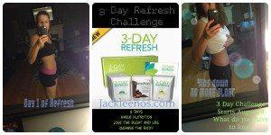 3 day refresh challenge