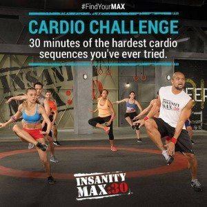 insanity max 30 cardio challenge