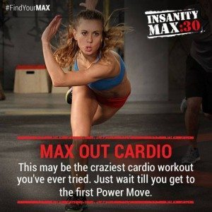 insanity max 30 cardio power