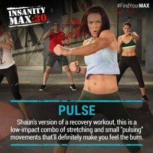 insanity max 30 recovery pulse