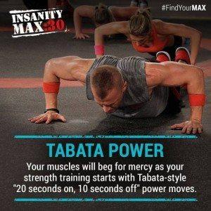 insanity max 30 tabata power