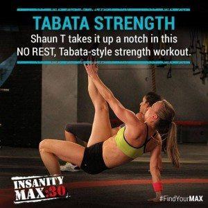 insanity max 30 tabata strength