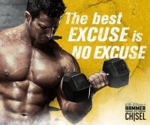 no excuse