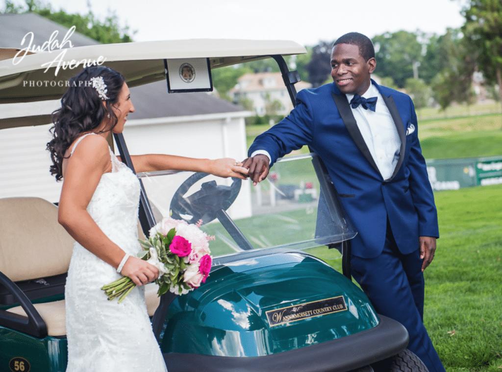 Mixed couple wedding