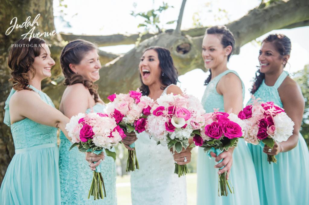 Mint Green Bridesmaids Dresss
