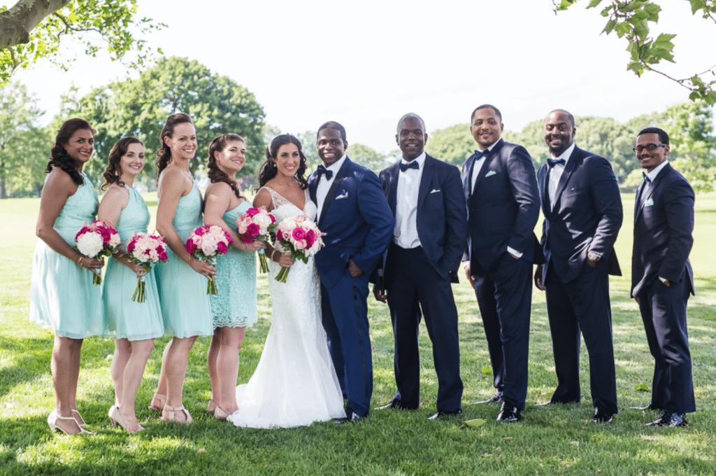 Mixed Racial Wedding
