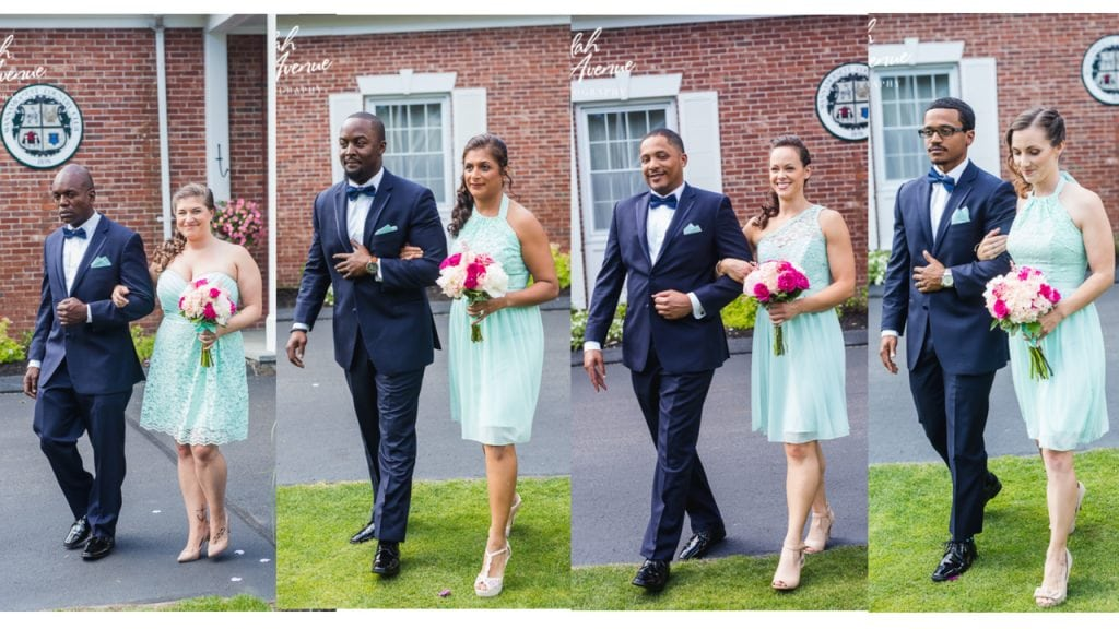 Navy and Mint Wedding