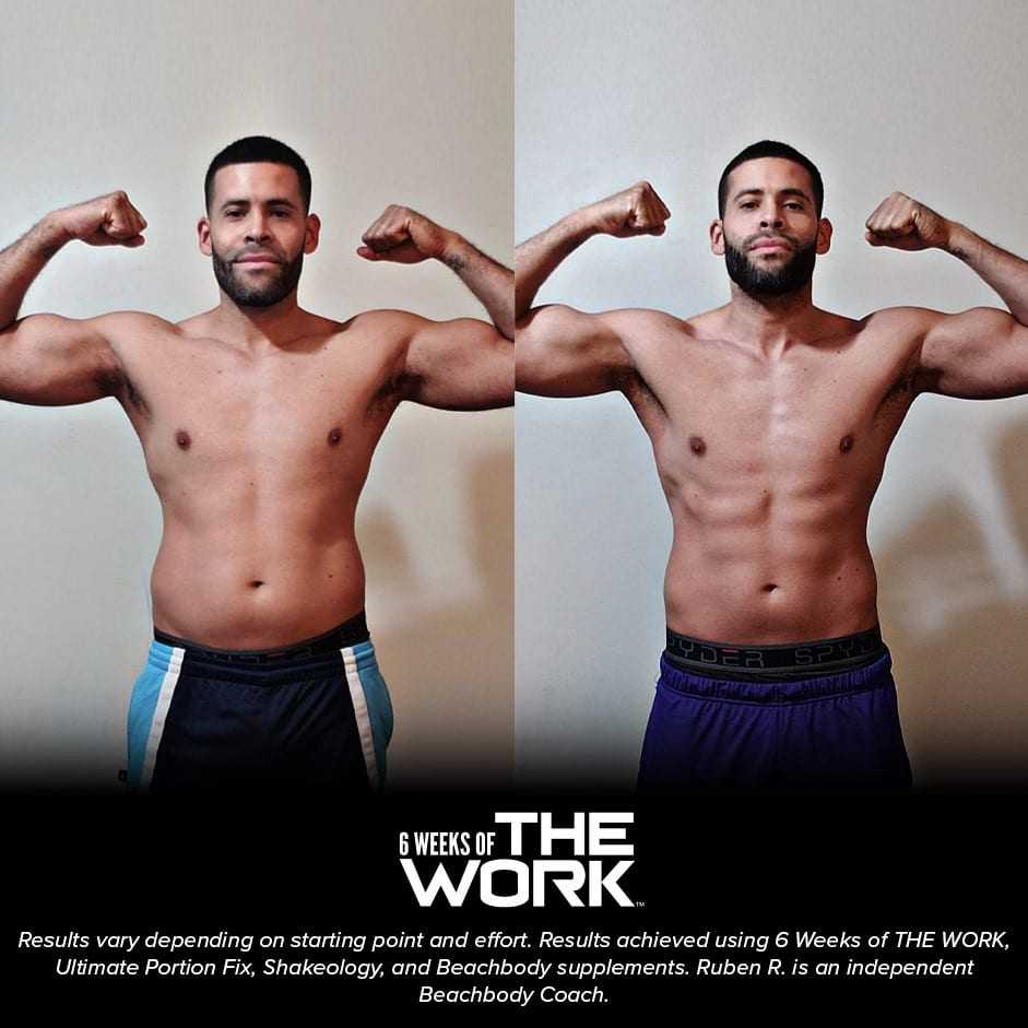 6 weeks of the work results