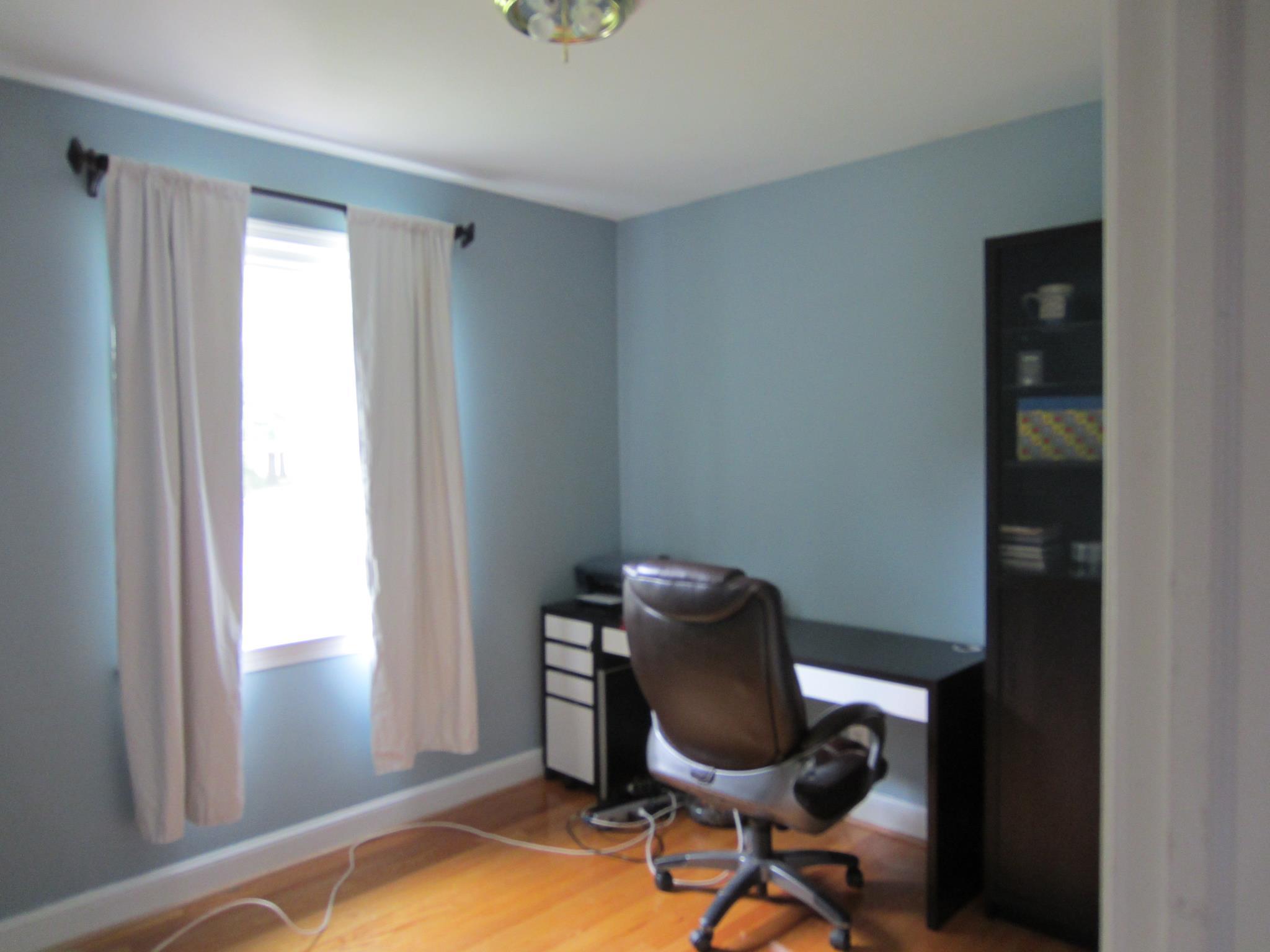 light blue office